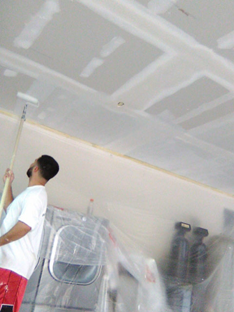 Drywall Garage Repair